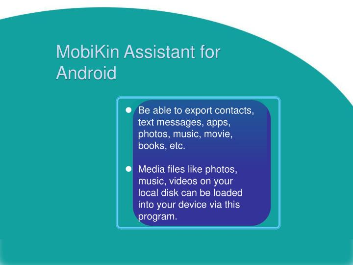 Mobikin assistant for android1