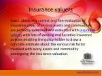 insurance valuers
