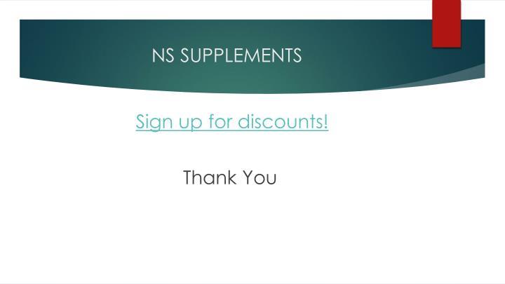 NS SUPPLEMENTS