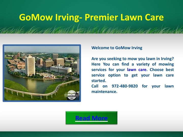 GoMow Irving- Premier Lawn Care