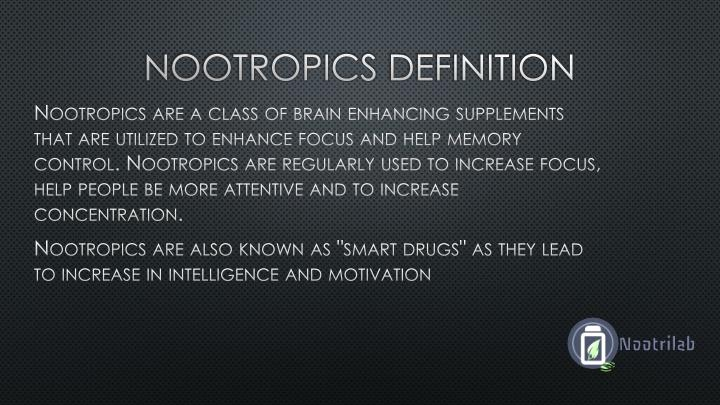 Ppt What Are Nootropics Powerpoint Presentation Id 7451361