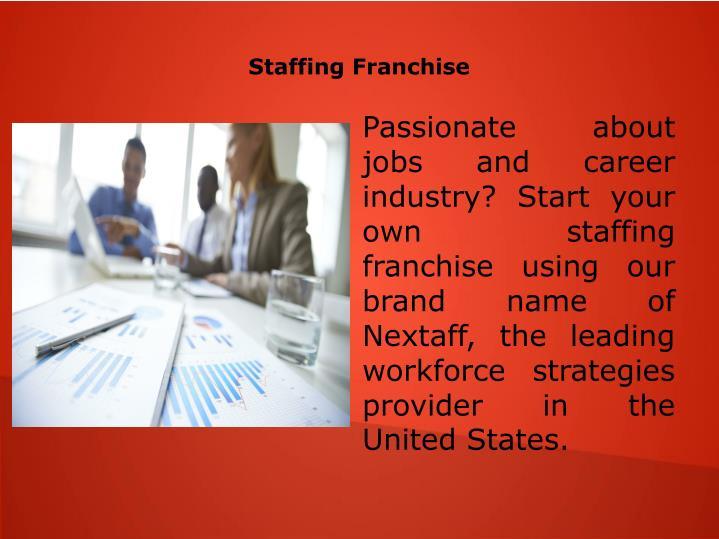 Staffing Franchise