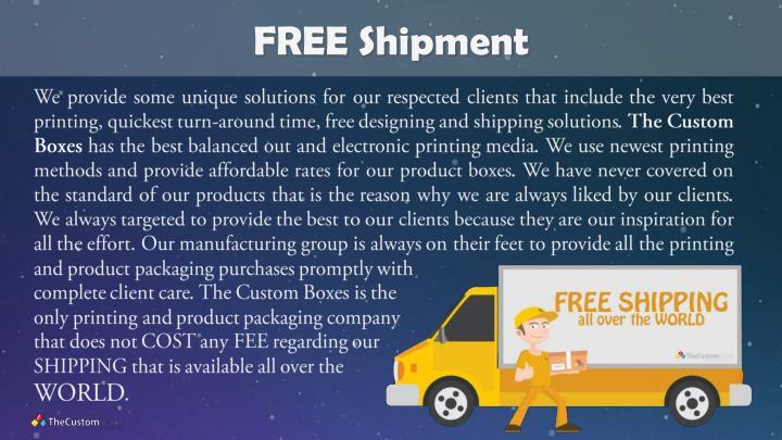 FREE Shipment