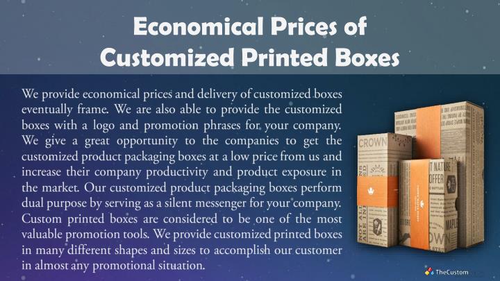 Economical Prices of