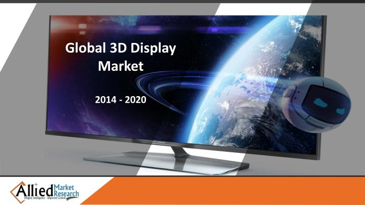 Global 3D Display Market