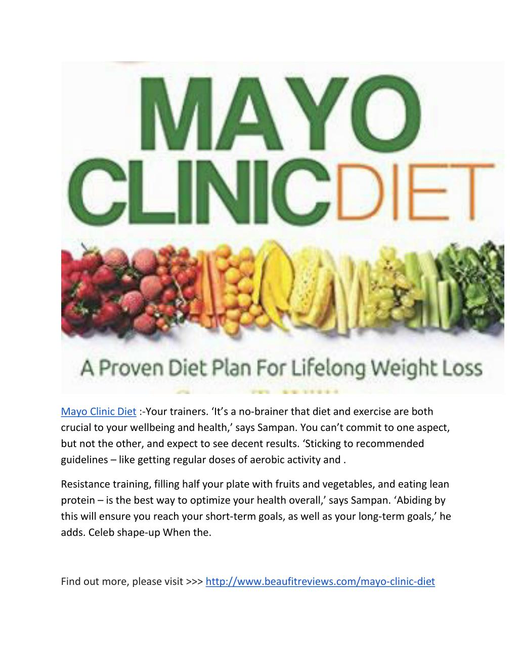 mayo-clinic-diet PowerPoint
