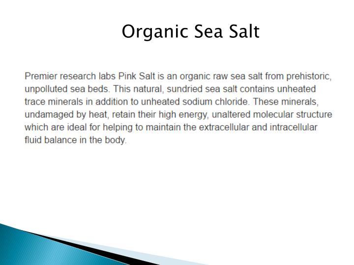 Organic Sea Salt