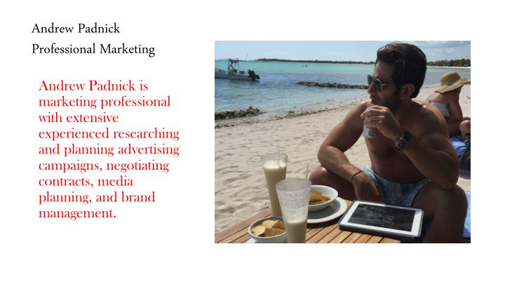 Andrew padnick professional marketing