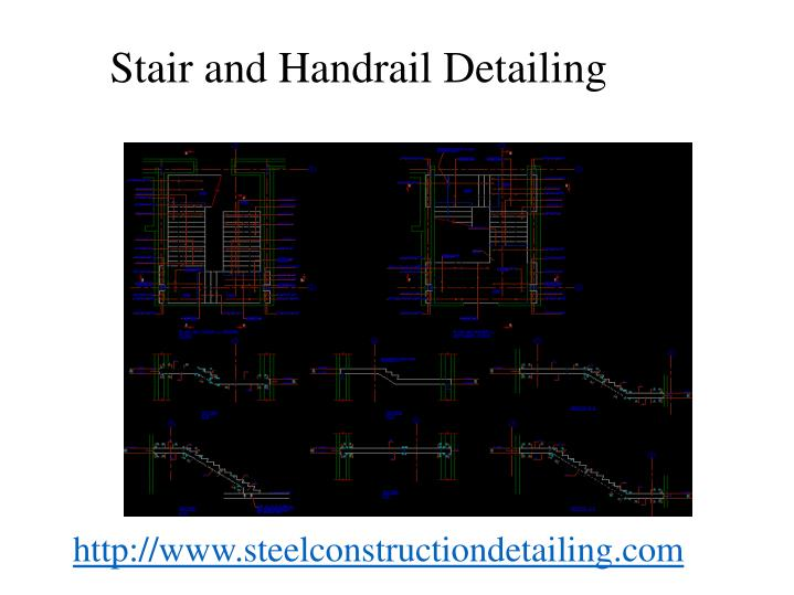 Stair and handrail detailing1