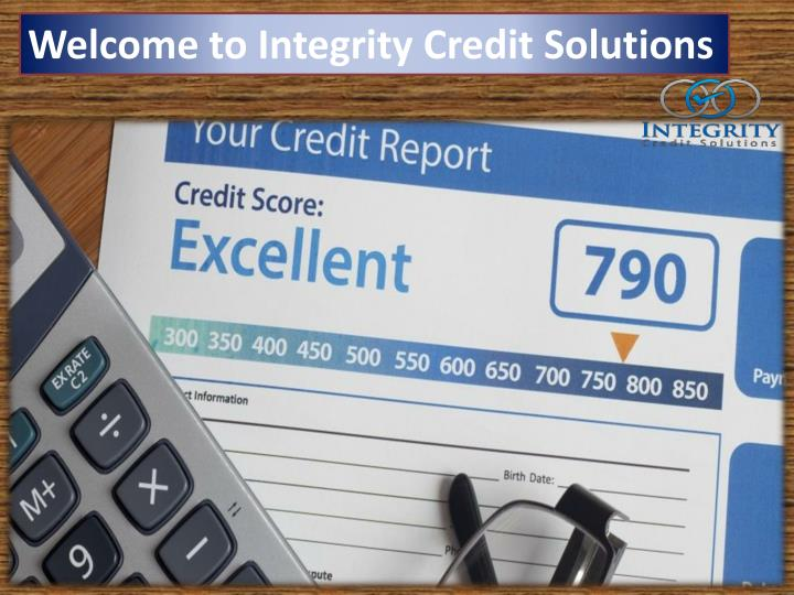 Welcome to Integrity Credit