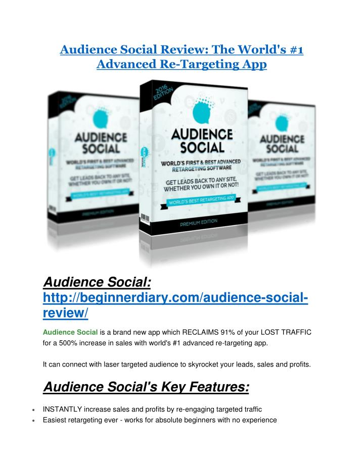 Audience Social Review: The World's #1