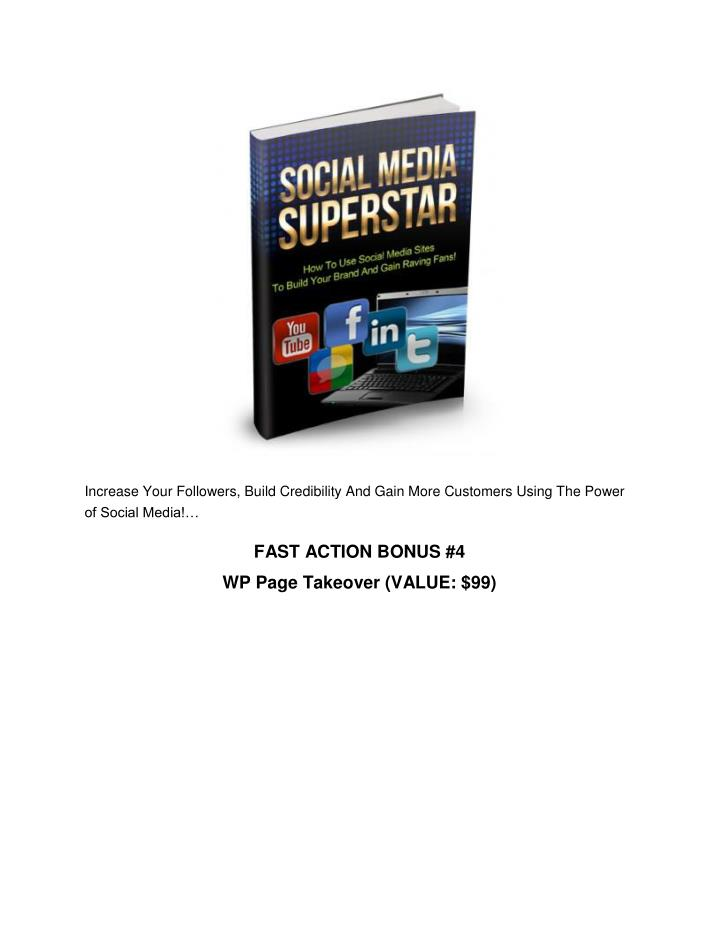 Increase Your Followers, Build Credibility And Gain More Customers Using The Power