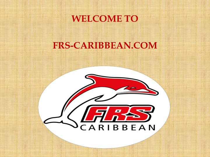 Welcome to frs caribbean com