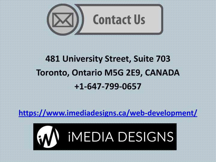 481 University Street, Suite 703