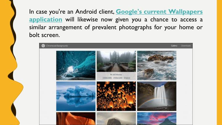 In case you're an Android client,