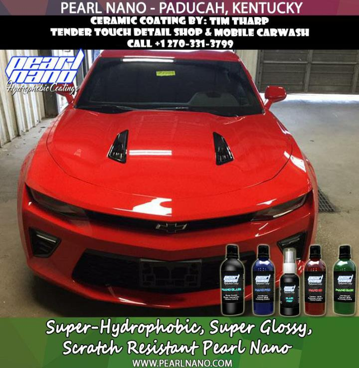 Super hydrophobic coatings tender touch detail shop mobile carwash
