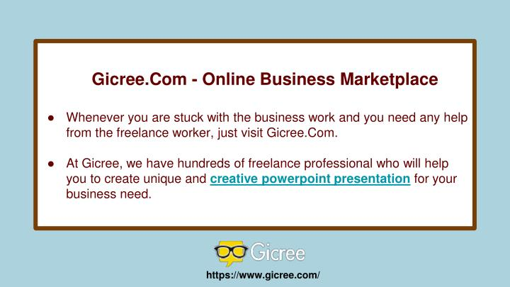 Gicree.Com - Online Business Marketplace
