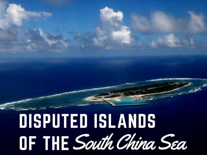 questioned islands of the south china sea n.
