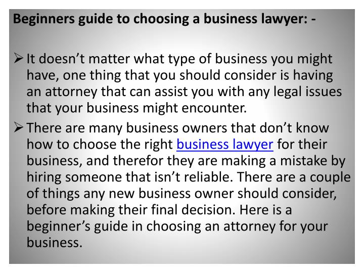 Beginners guide to choosing a business
