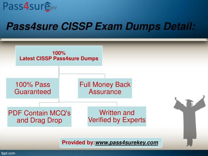 Pass4sure cissp exam dumps detail