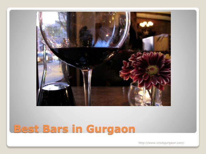 Best Bars in Gurgaon