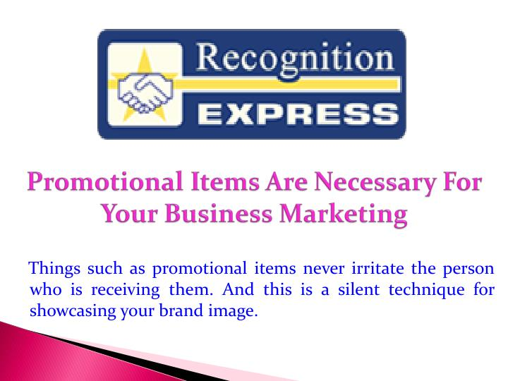 promotional items are necessary for your business marketing n.