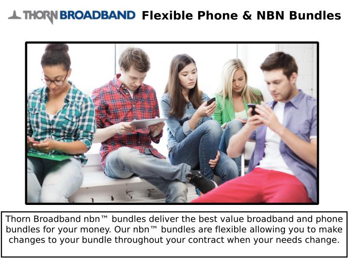 Flexible Phone & NBN Bundles