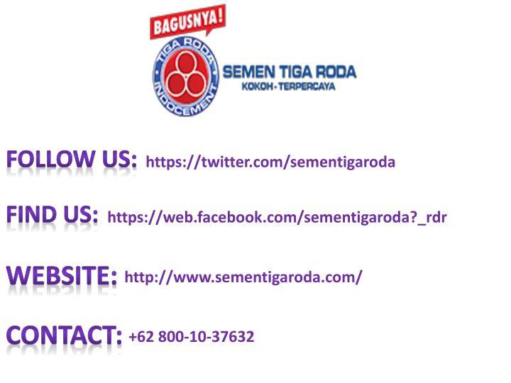 Follow Us: