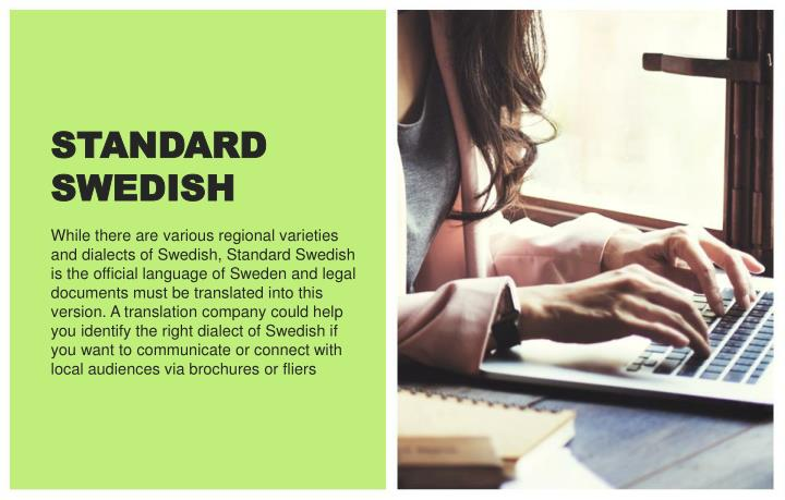 STANDARD SWEDISH