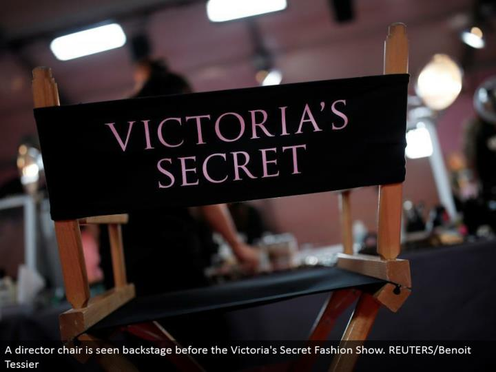 A chief seat is seen backstage before the Victoria's Secret Fashion Show. REUTERS/Benoit Tessier