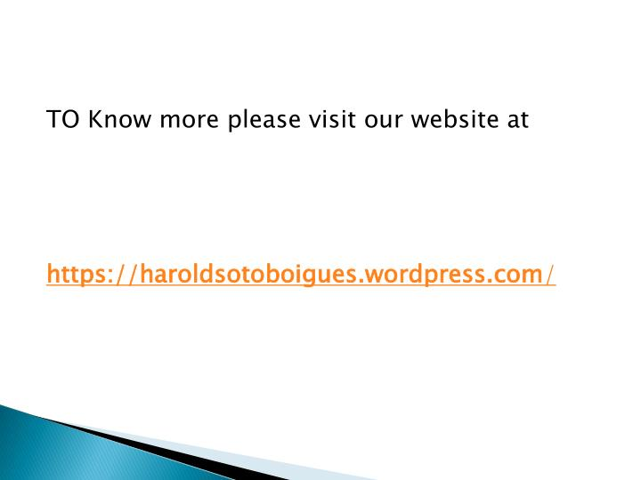 TO Know more please visit our website at