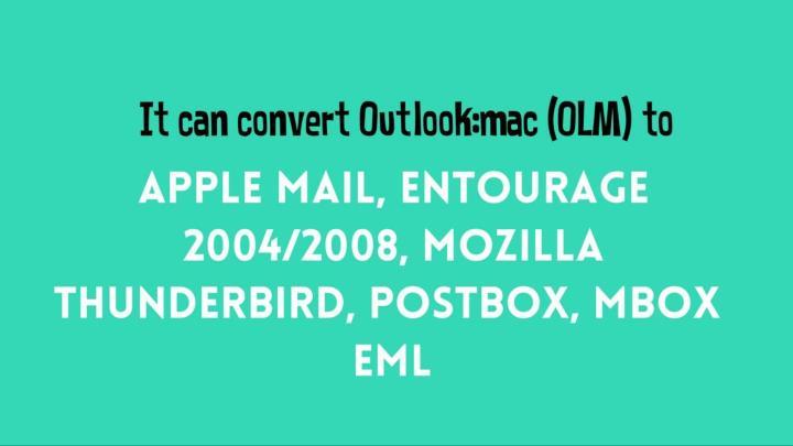 Import mac olm to thunderbird email database