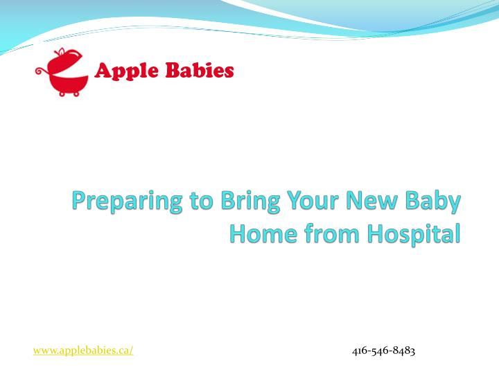 preparing to bring your new baby home from hospital