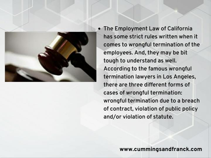 The Employment Law of California