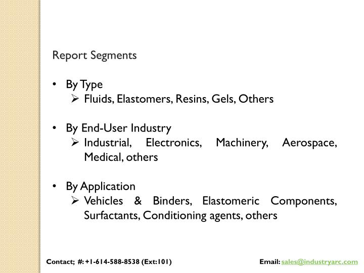 Report Segments