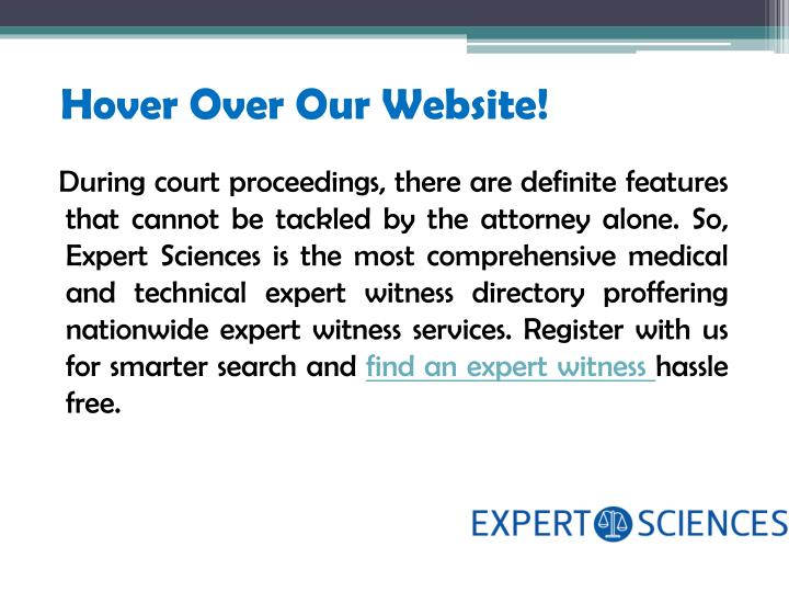 Hover Over Our Website!