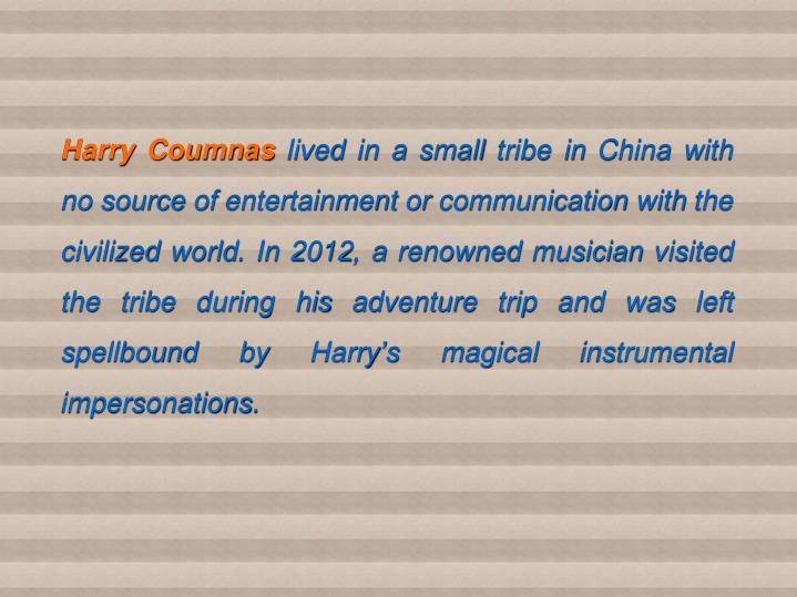 Harry Coumnas