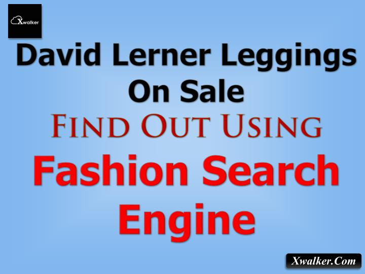 David Lerner Leggings On Sale