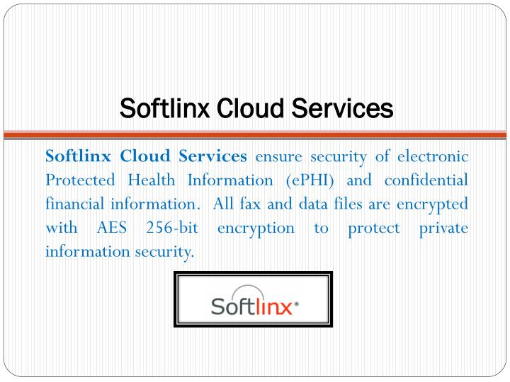 Softlinx cloud services