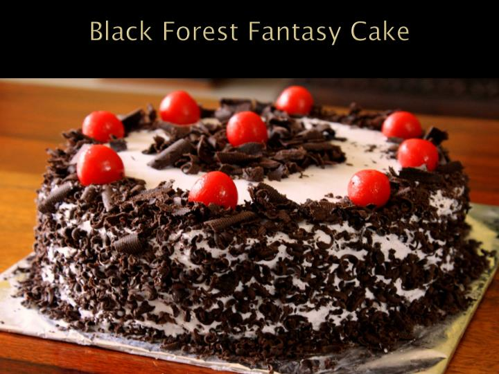 Black Forest Fantasy Cake