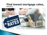 find lowest mortgage rates mississauga