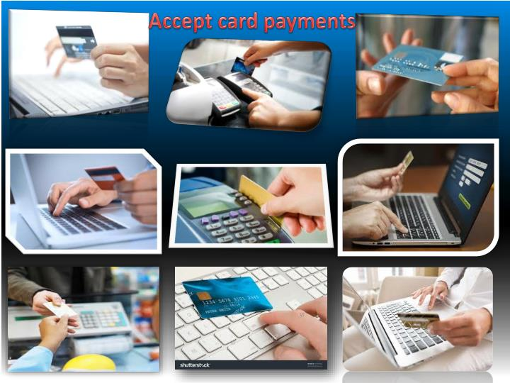 Accept card payments