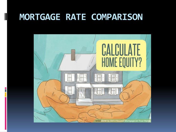 Mortgage rate comparison