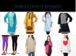 women s fashion apparels
