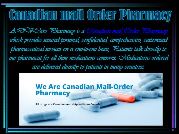 Canadian mail