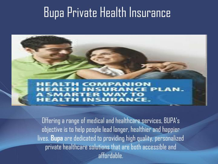 Bupa Private Health Insurance