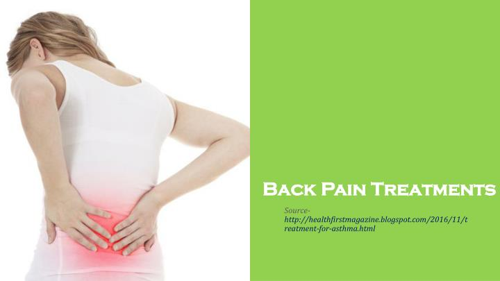 back pain treatments n.