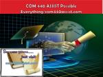 com 440 assist possible everything com440assist com
