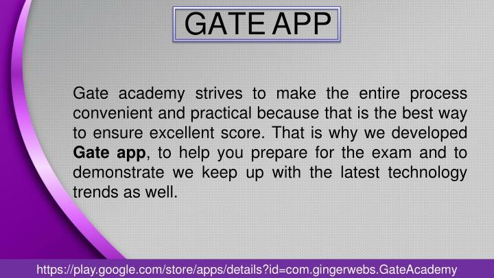 Gate app1