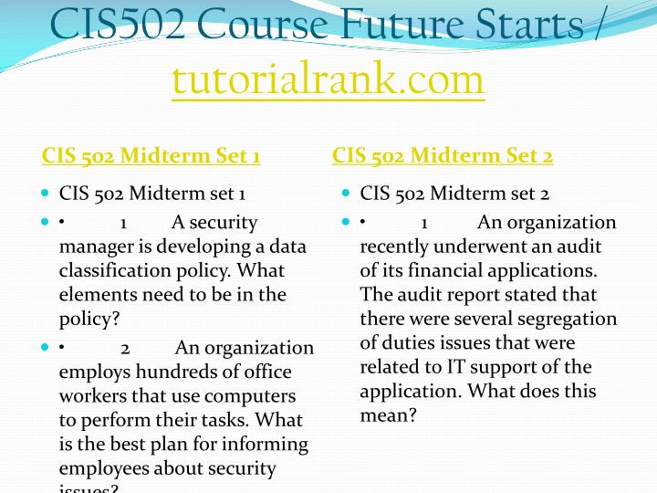 Cis502 course future starts tutorialrank com2
